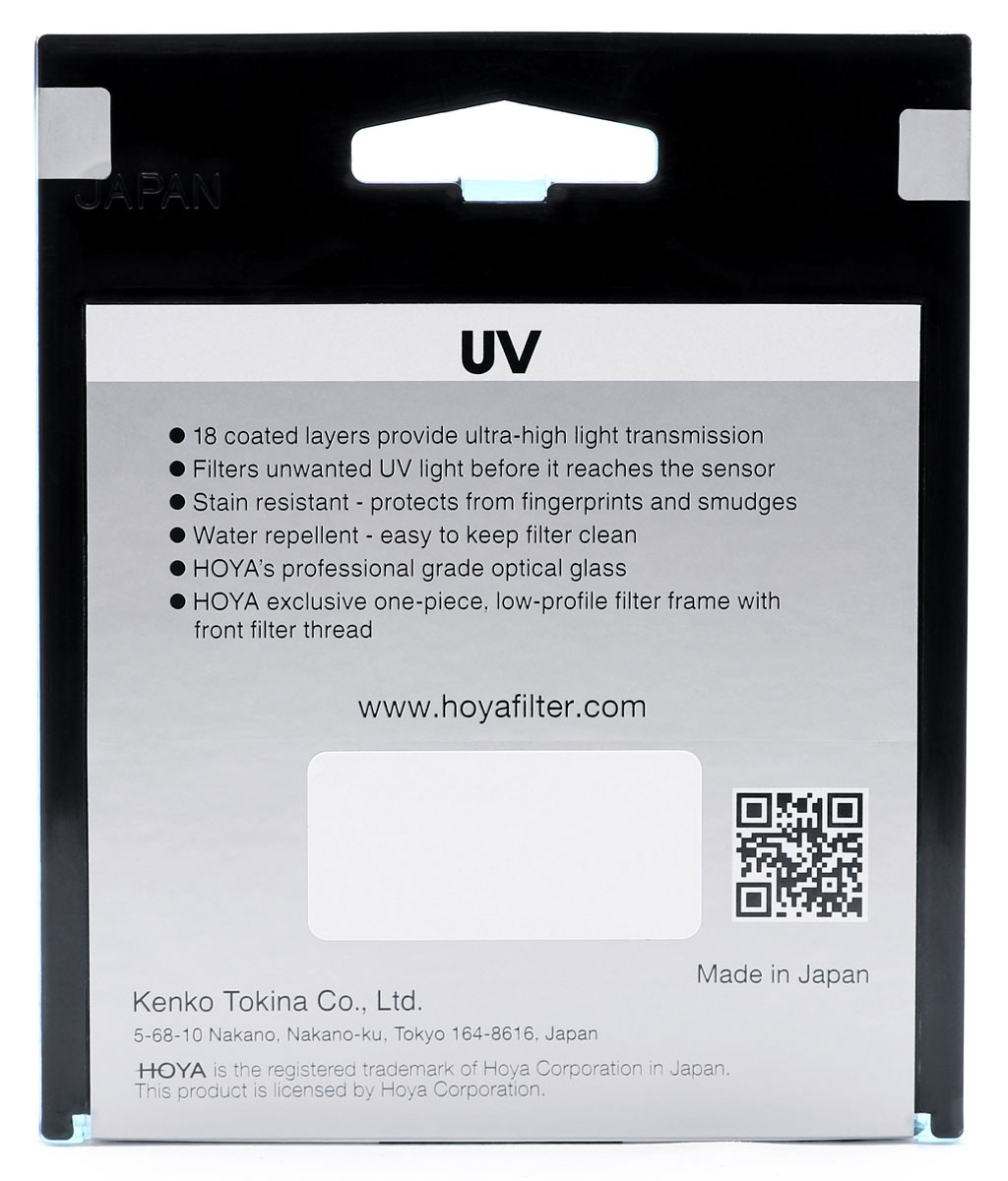 Hoya Fusion One UV Filter 40.5 mm