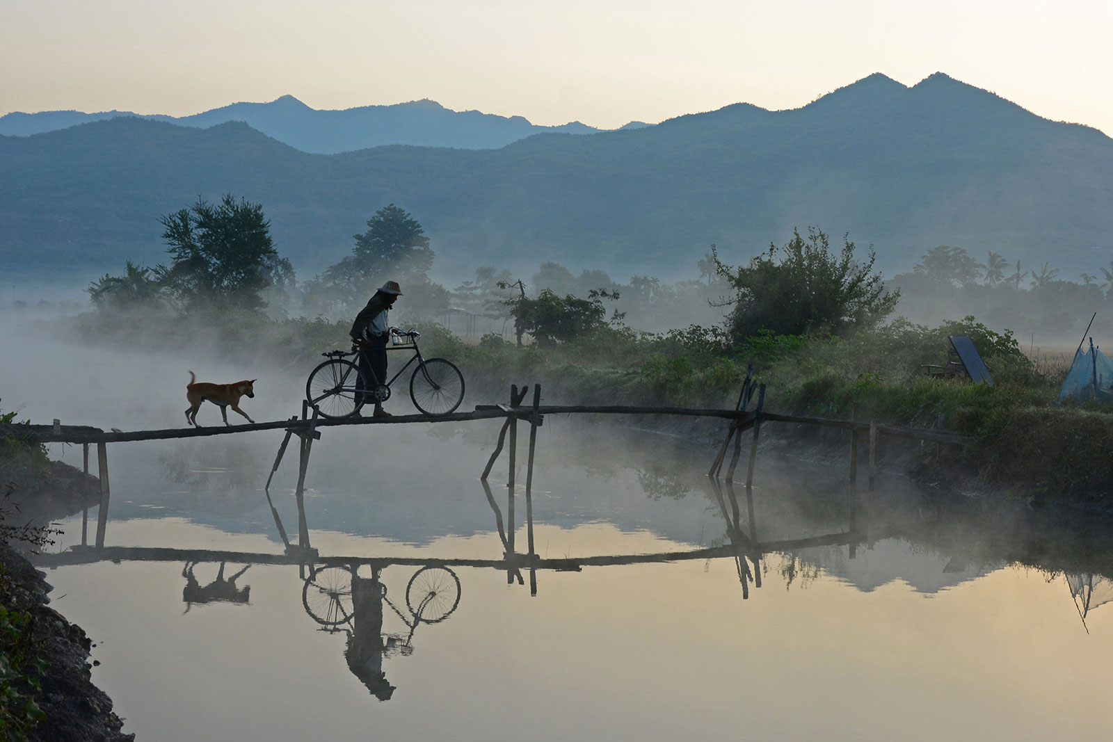Title: Foggy morning | Author: Myo Min Kywe | Filter used: ND | Country: Myanmar